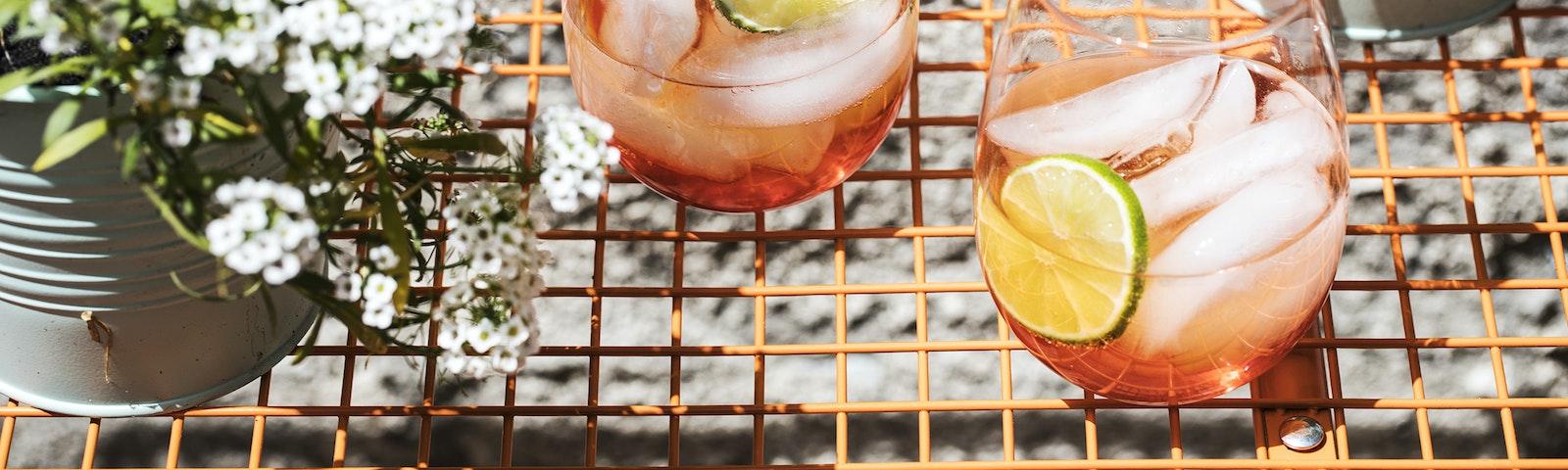 Aperol spritz med jordbærtwist