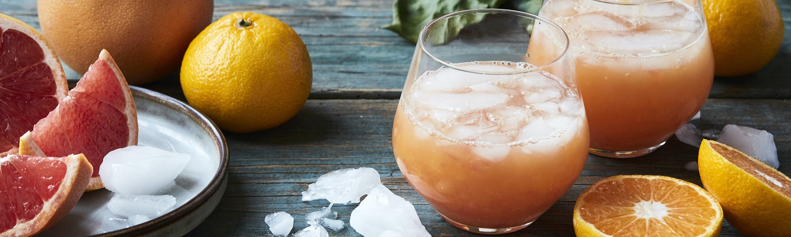 Citrus med ingefær