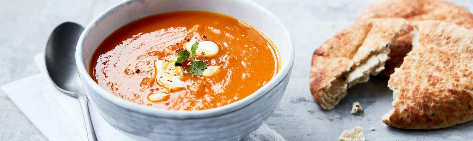 Morotssoppa med chili