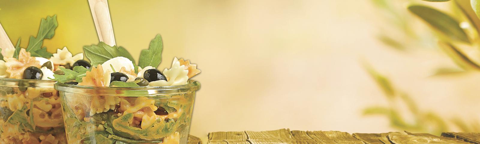 Mini-Farfalle Salat